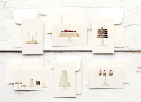 Laura Stoddart Cakes Enclosure Cards