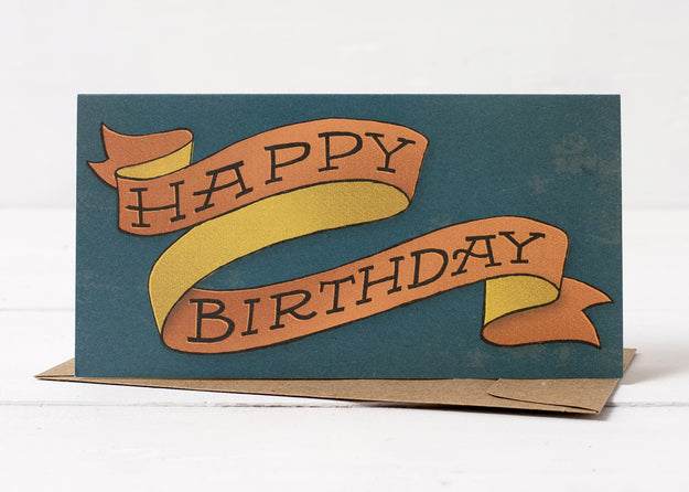 Birthday Ribbon Card