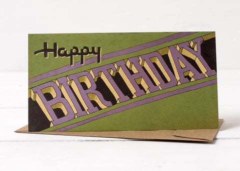 3-D Birthday Card