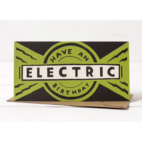 Have an Electric Birthday