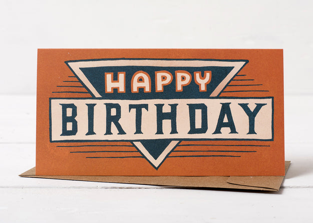 Birthday Badge Card