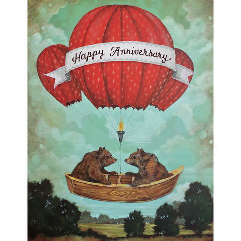 Anniversary Bears Greeting Card