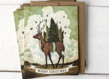 Christmas Elk Boxed Set Cards