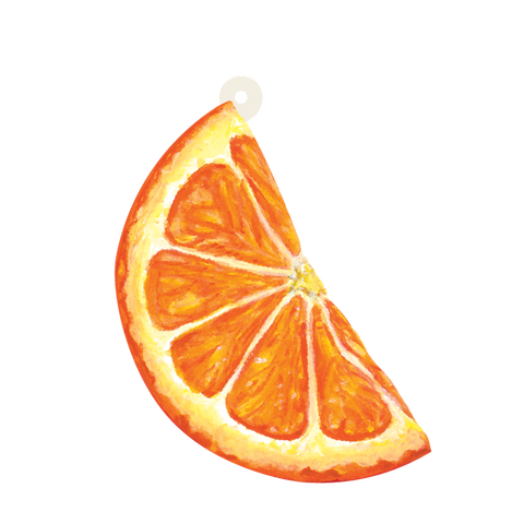 Orange Slice Gift Tag