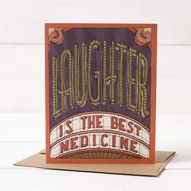 Laughter is the Best Medicine Card