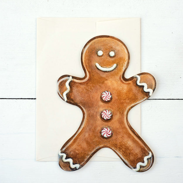 Gingerbread Man Boxed Set Cards
