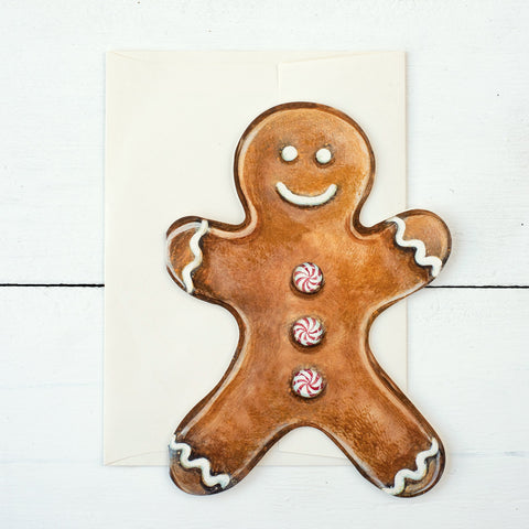 Gingerbread Man Card