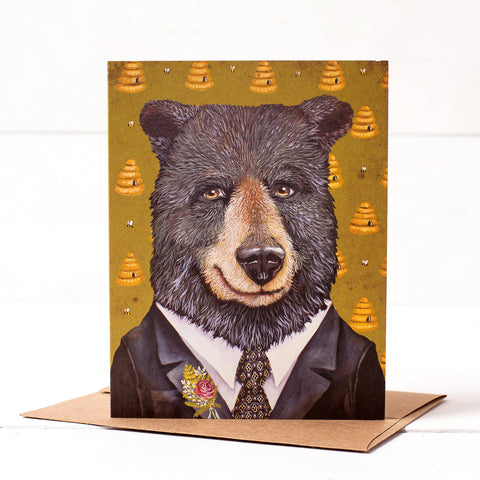 Mr. Benjamin Grizzles Card
