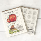 Woodland Tales Coloring Book