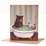 Bathtime Card