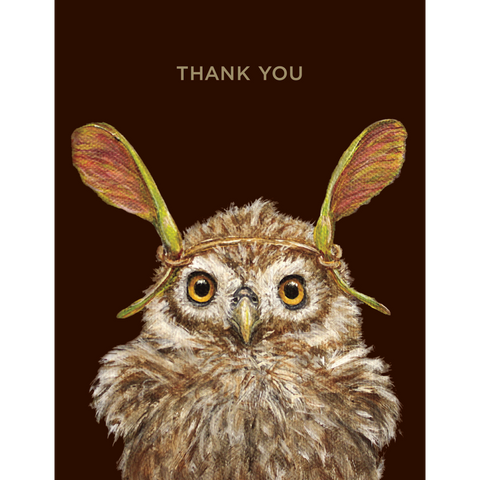Thank You Owl Card