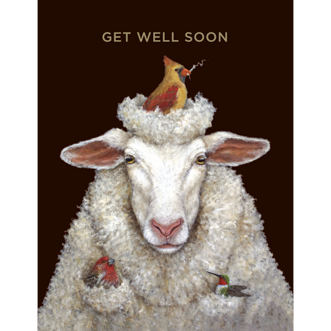 Get Well Sheep