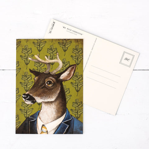 Mr. Buck Forrester Postcard