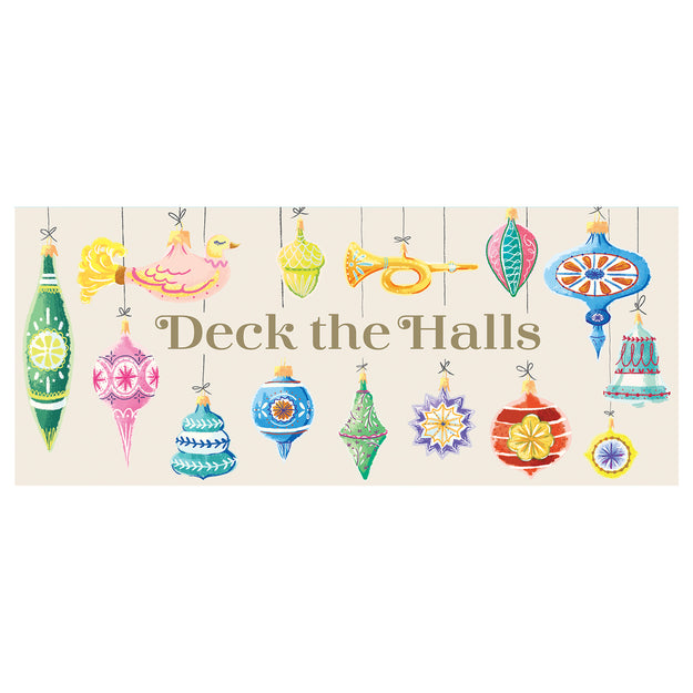 Deck the Halls Boxed Set of Cards