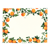 Orange Orchard Fold Note