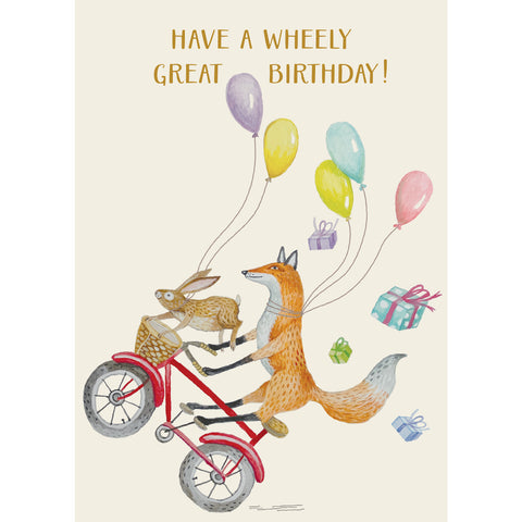 Wheely Great Birthday Card