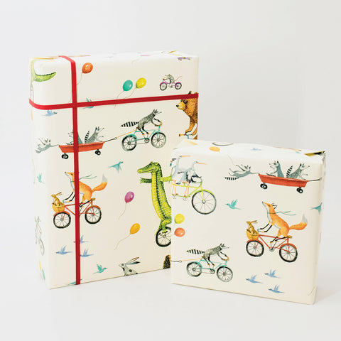 Nice Wheels Wrapping Paper