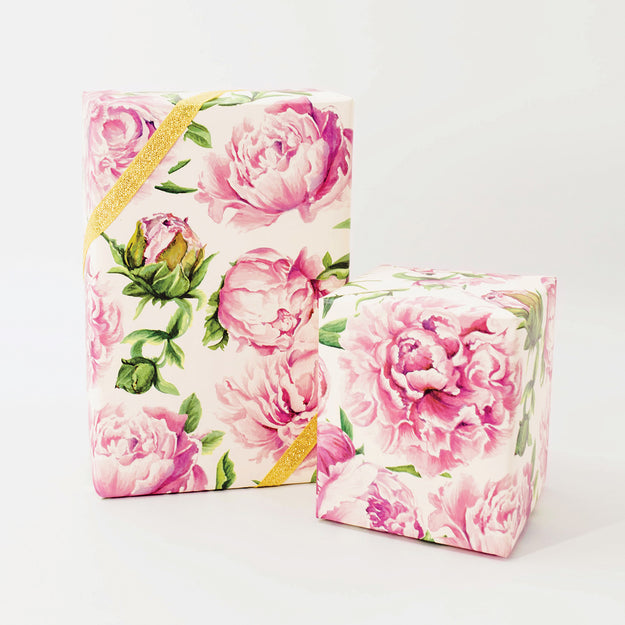 Peonies in Bloom Wrapping Paper