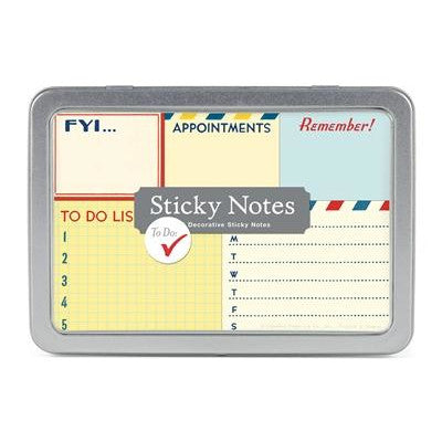 To Do Sticky Notes (Assorted)