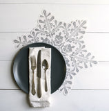 Snowflake Placemat Sheets