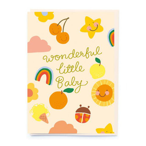 Wonderful Little Baby Greeting Card
