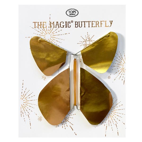 Gold Metallic Magic Butterfly