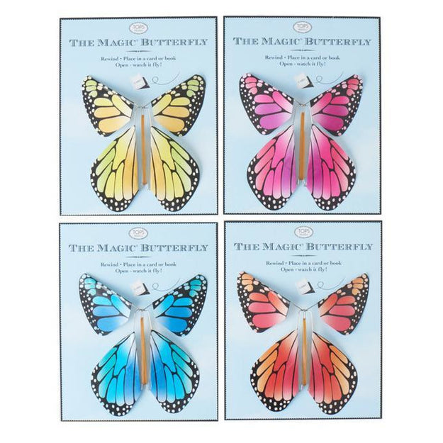 Magic Flying Butterfly Rainbow Colors