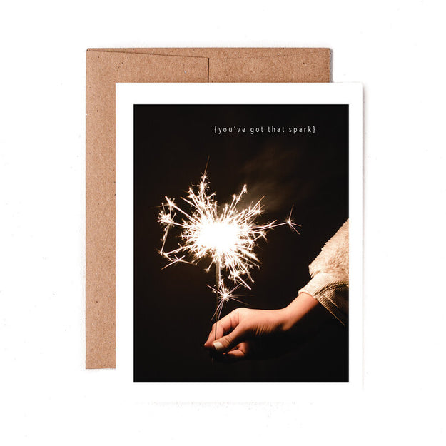 Spark Greeting Card