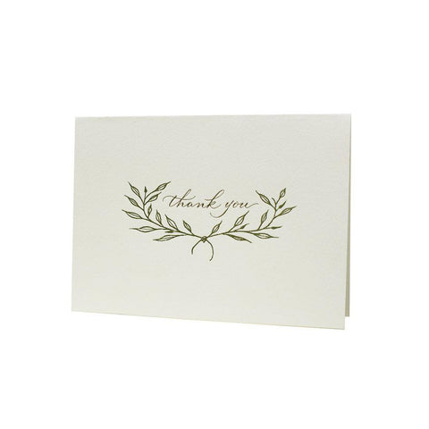 Branches Thank You Note Card Set of 6