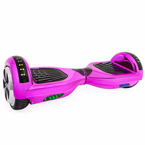 Self Balancing Scooter Hoverboard UL2272 Certified, Bluetooth Speaker and LED Light