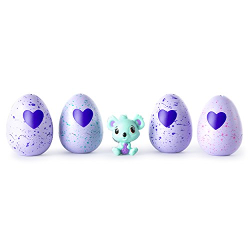 Hatchimals - CollEGGtibles 4-Pack + Bonus (Styles & Colors May Vary) by Spin Master