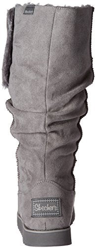 Skechers Women's Keepsakes-Big Button Slouch Tall Winter Boot