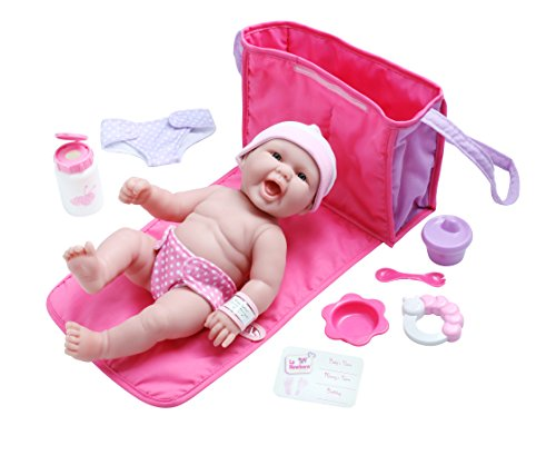 LA NEWBORN 10 Piece Deluxe DIAPER BAG GIFT SET