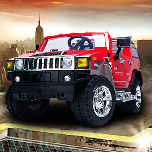 New Red Hummer H2 1206 Ride-on Car for children 12V battery operated with Remote Control