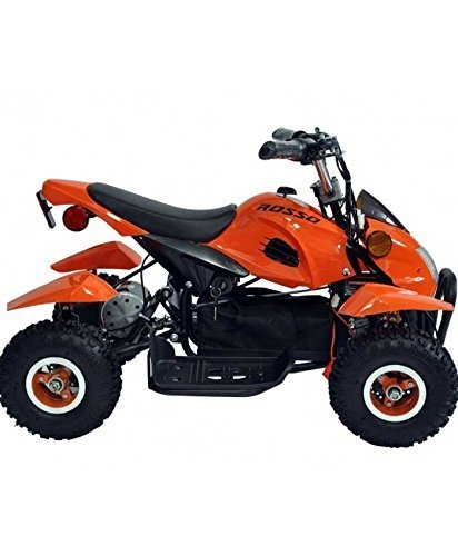 Motors Kids ATV Kids Quad 4 Wheeler Ride On Battery Electric Power Lights