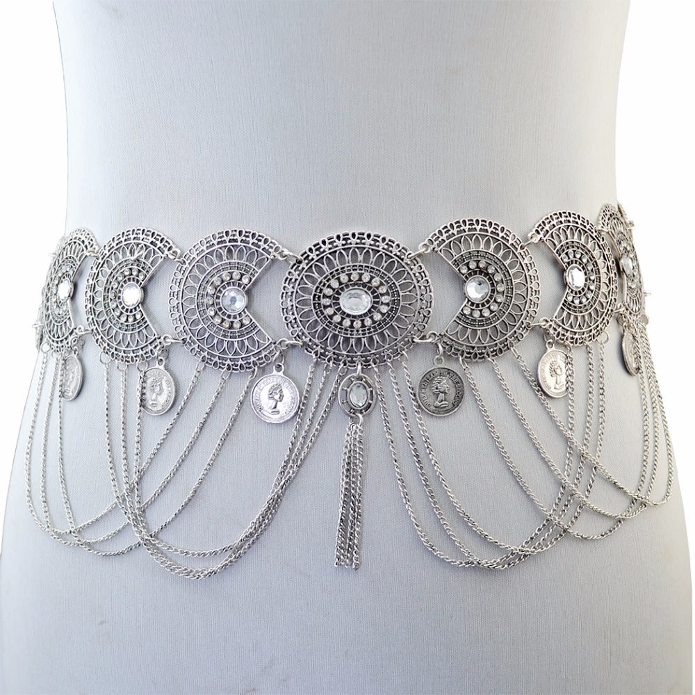 Flower Waist Body Chain Jewelry