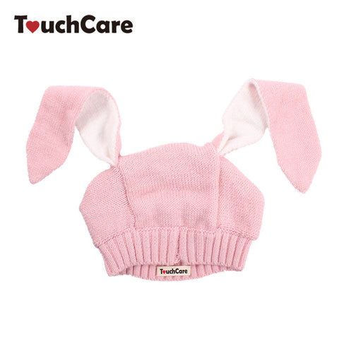 Infant Cute Long Rabbit Ears Baby Hat Spring Autumn Toddler Knitted Kids Caps