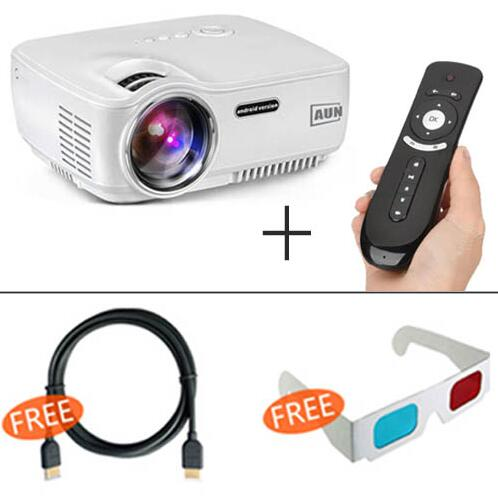 Projector with WIFI & Bluetooth Support Miracast Airplay