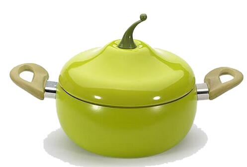 Non-stick Fruit Pan Tomato Eggplant Shape Cooking Pot