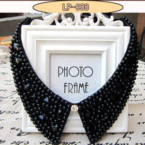 rhinestone collar false jewelry necklace beads fashion collar choker