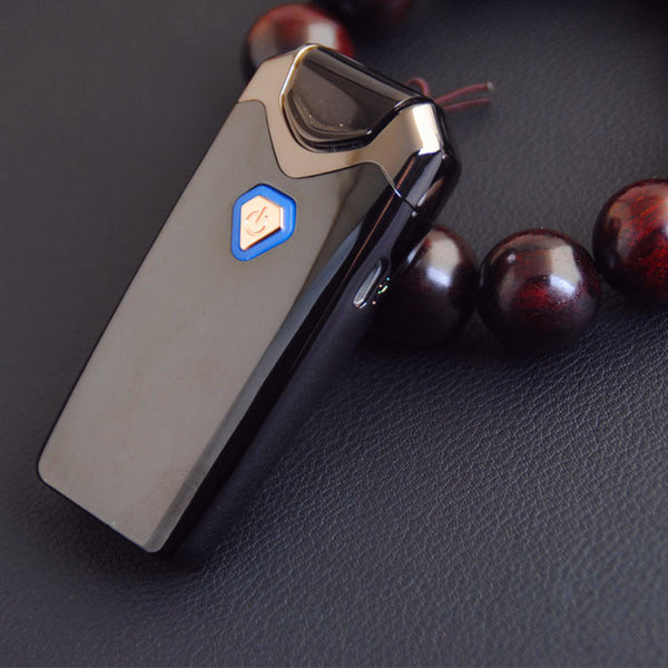 New USB Thunder Lighter Rechargeable Electronic Lighter