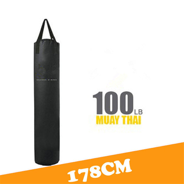 Empty Kick Boxing Fight Sandbag