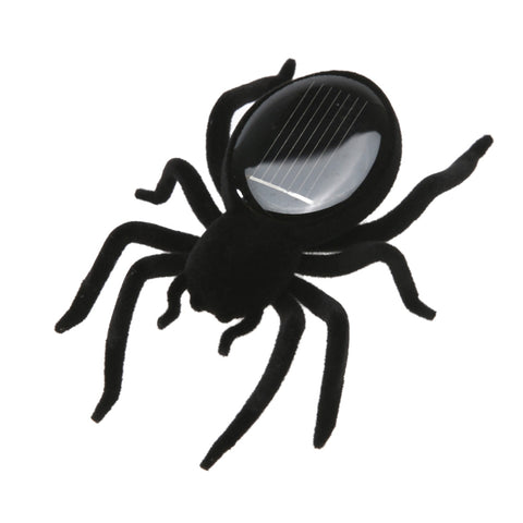 Solar Spider Tarantula Educational Robot Scary Insect Gadget Trick