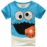 Kids Short Sleeve Cotton T-shirts