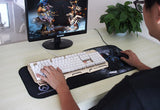 Large Keyboard and Mouse pad