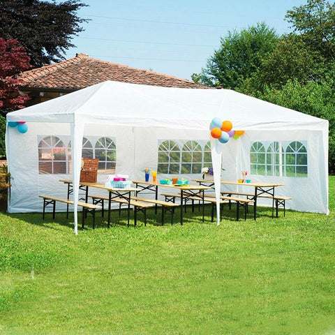 10'x30' Party Wedding Patio Tent Canopy Outdoor Heavy duty