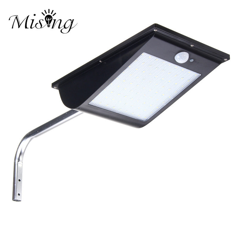 Motion Sensor LED Solar Light Outdoor Street Porch Light