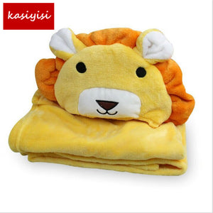 Hooded Animal Baby Bath Towel /baby Bathrobe Cloak
