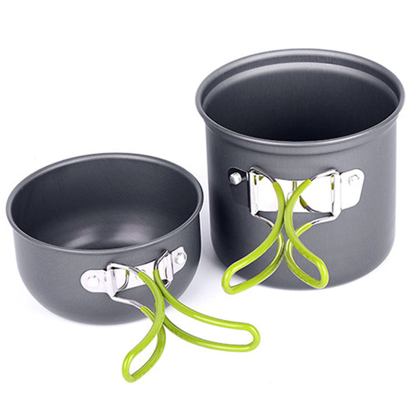 Outdoor Camping Hiking Cooking Set Cookware Outdoor Accessories
