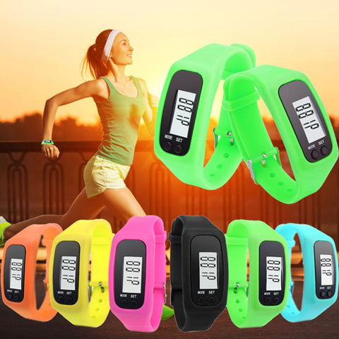 Outdoor Sports Pedometer Run Step Walking Distance Calorie Counter Digital Sport